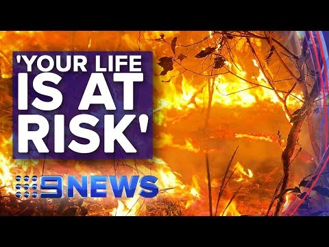 Unprecedented Bushfire Event Unfolding Across NSW | Nine News Australia