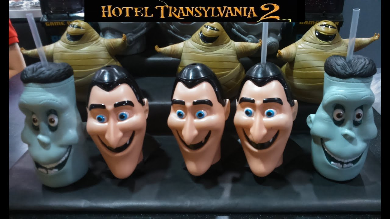 Hotel Transylvania 2 Toy Characters Featuring Dracula