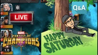 Saturday Night MCOC Fun! Live Stream #412