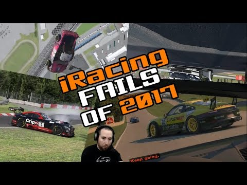 iRacing Twitch Fails of 2017