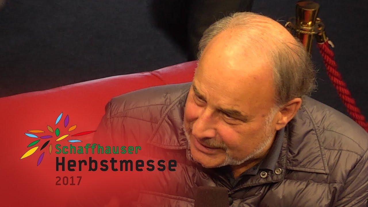 Herbstmesse 17 Heinrich Müller Zu Gast Auf Dem Roten Sofa Youtube