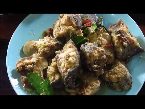 Mekong Fish cooking  - Laos food recipes (MOK PLA)