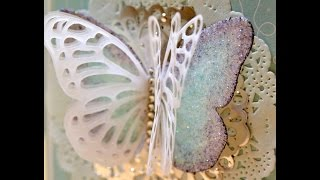 Painted Glimmer Butterfly - JanB UK Stampin
