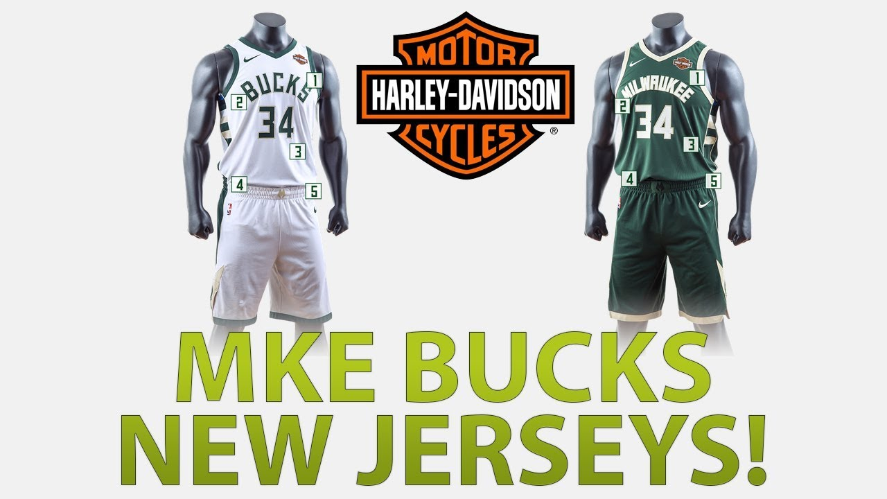 MILWAUKEE BUCKS UNIFORM REVEAL  b967c0c57