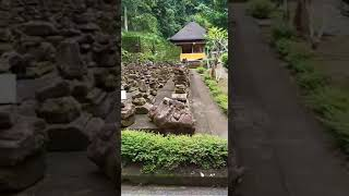 goa gajah temple with 8 person guest from taiwan