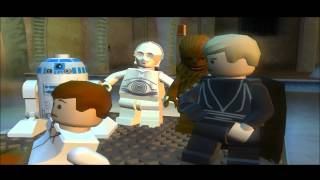 LEGO Star Wars II Walkthrough Episode VI Chapter 1 Jabba