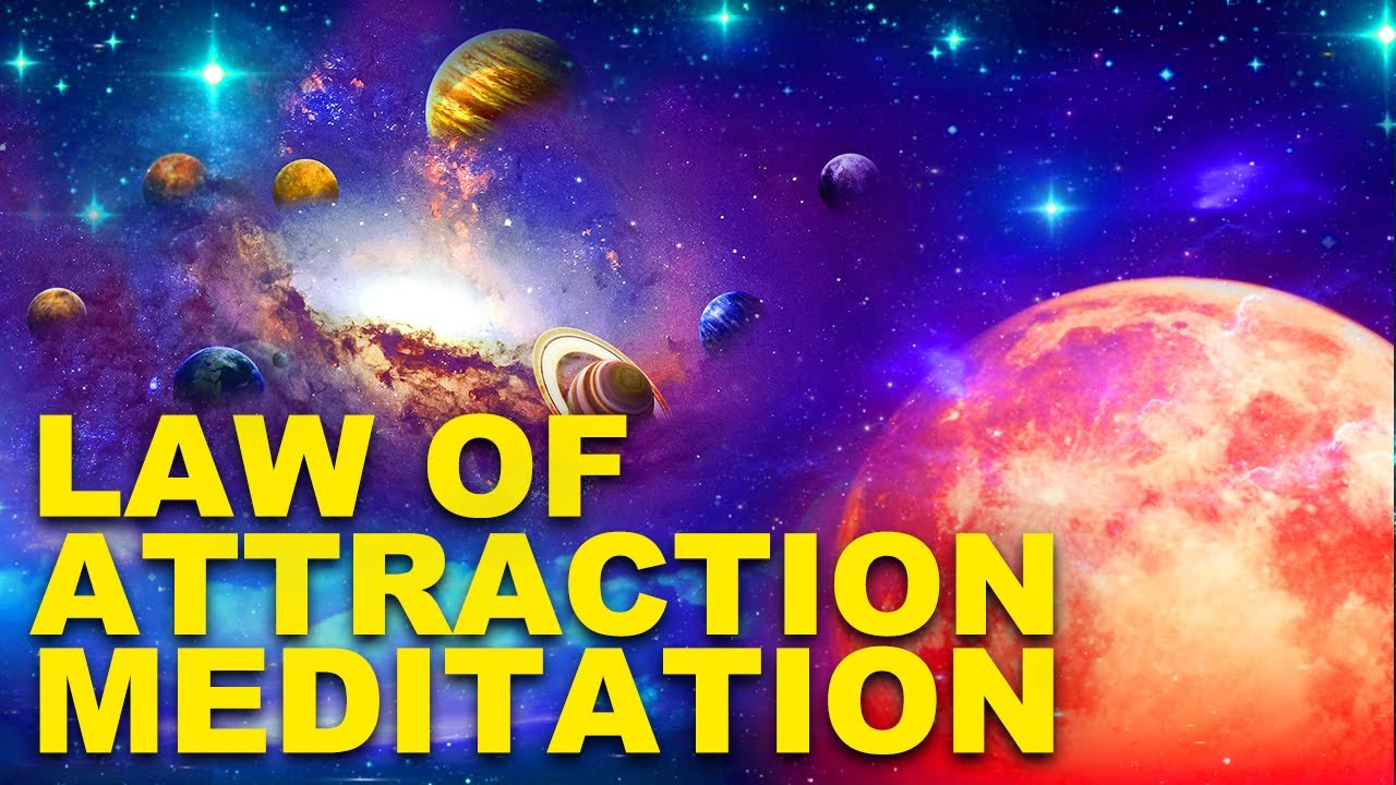 Guided Sleep Meditation, Law of Attraction Spoken Meditation for Sleep, ASK BELIEVE RECEIVE
