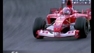 F1 Austrian Grand Prix 2003 - Rubens Barrichello Chasing Kimi Raikkonen
