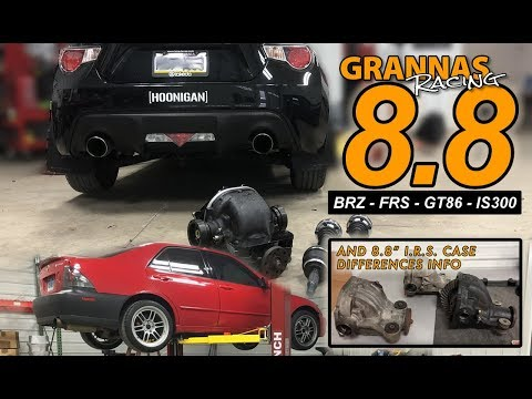 Grannas Racing IRS Ford 8.8