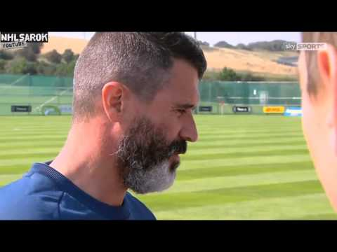 Roy Keane Accuses Journalist Of Looking Worried About The Ireland's European Qualifier In Georgia