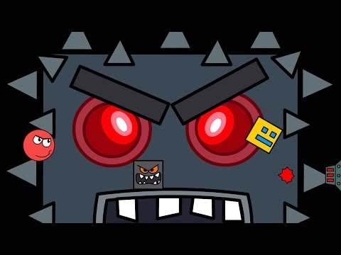 Geometry Dash vs Red Ball Animation - The End