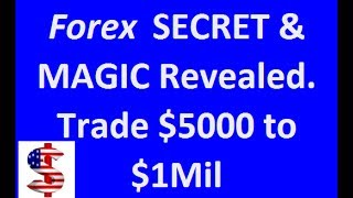 Revealed - Learn the secret and magic of trading $5000 to $1Mil. Buy the EA. Link your Forex Account