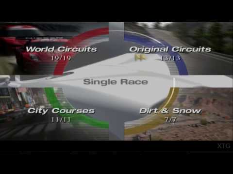 Gran Turismo 4 -  Track List PS2 Gameplay HD