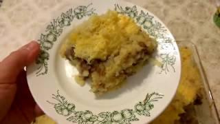 Картофельная запеканка с тушенкой/ Вкусный рецепт