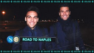 NAPOLI vs INTER | ROAD TO NAPLES | The first game of 2020 awaits! ✈⚫🔵
