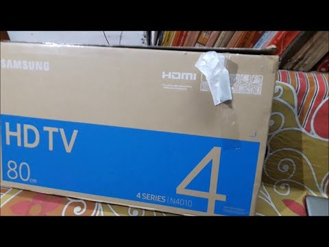 Samsung 80cm (32 inch) HD Ready LED TV (32N4010) Unboxing & First Look!