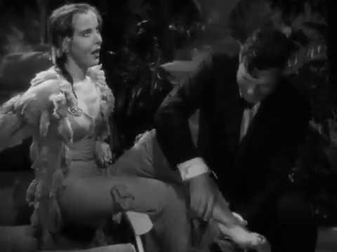 Artists and Models (1937) - scene where Ida Lupino falls in pool
