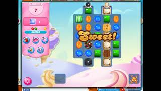 Candy Crush Level 4592 Talkthrough, 16 Moves 0 Boostrers