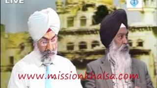 saka june 1984 ਦੋ ਪਖੀ ਵਿਚਾਰ ਚਰਚਾ  (sikh channal )dr gurdeep singh jagbir