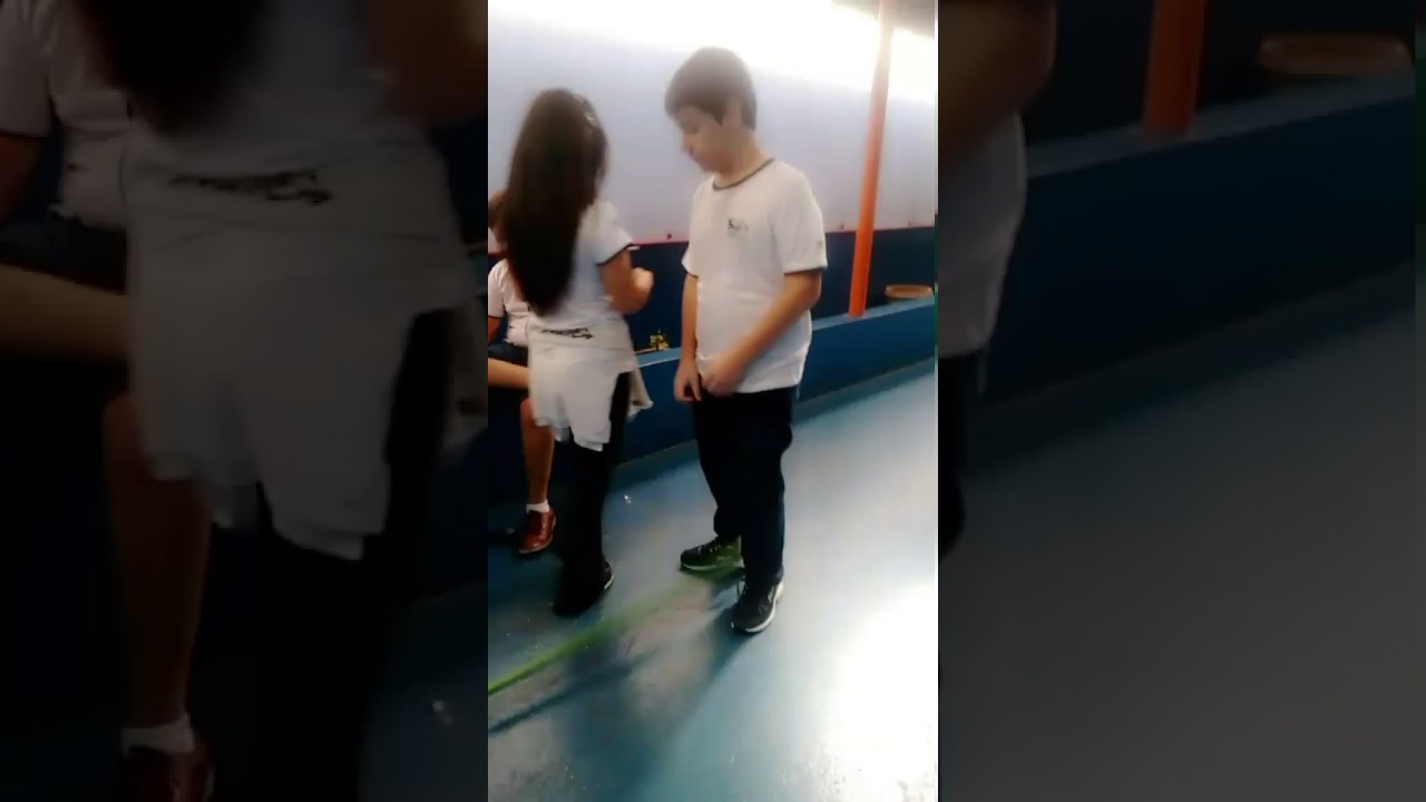 Chubby teen bend over