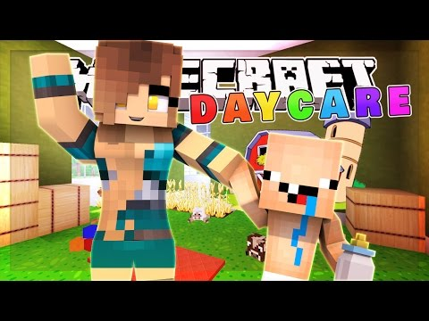 Minecraft Daycare - MEET OUR NEW CUTE BABY!! (Minecraft Roleplay)