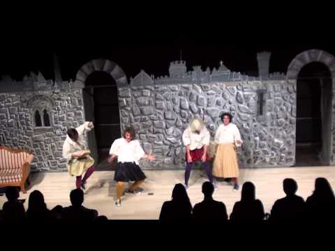 Complete Works of Shakespeare ACT 1 Closing night