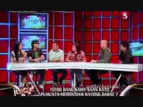TV5 Juicy ~ Kean Cipriano  BFGF CAST Guesting 09April2010 12