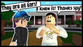 EXPOSING MY HATERS THANKS TO MY SPY! - Roblox