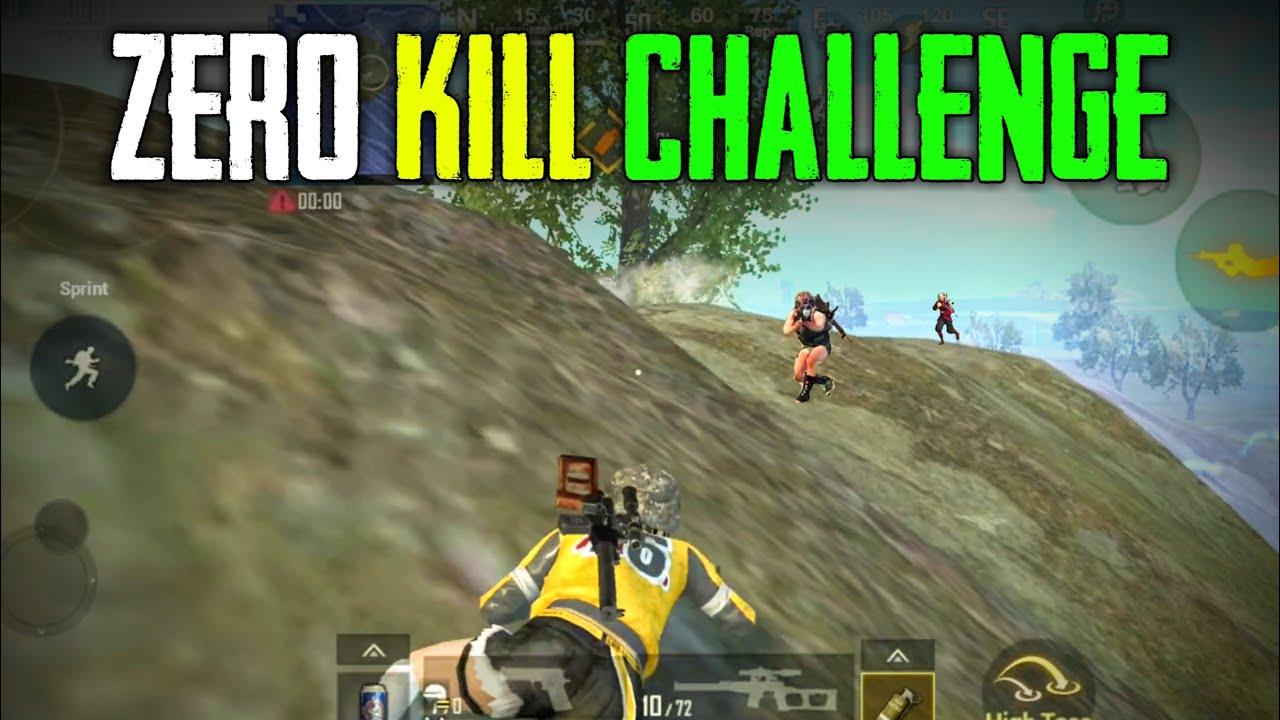 PUBG Mobile Lite Zero Kill Challenge #2