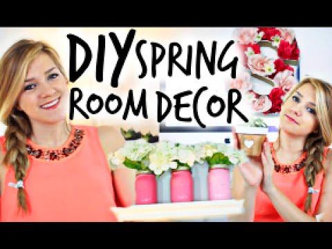 DIY Spring Room Decor! Easy & Affordable