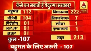 Karnataka Results: This is How BJP Will Touch Majority And Claim To Form Govt | ABP News