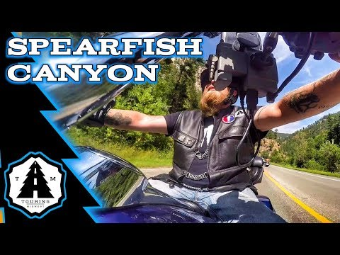 Sturgis Rally 2018 | Spearfish Canyon Motorcycle Ride
