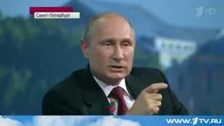 Ответ Путина на санкции: «Выбрали двух евреев и хохла»!