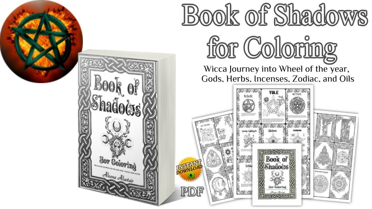 63 Coloring Book Of Shadows Pdf Download Free Images