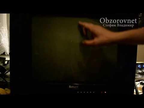 видео: Ремонт телевизора saturn. Нет изображения