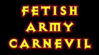 Diablo 3 Fetish Army Carnevil Witch Doctor Build! Reaper Of Souls.