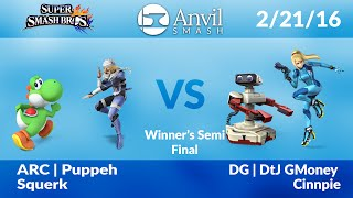 Anvil Smash #40 Doubles: [WS] ARC | Puppeh/Squerk vs DG | DtJ GMoney/Cinnpie