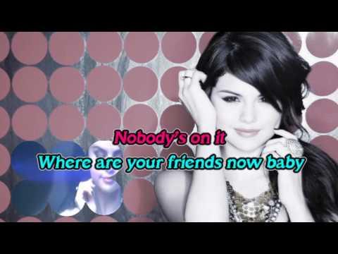 Falling Down Karaoke - Selena Gomez HD