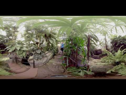 Visiting Franklin Park Conservatory - Columbus  [Ohio 360˚ Virtual Reality]