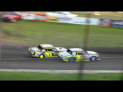Stock Car Heat 1 @ Hamilton County Speedway 05/09/17