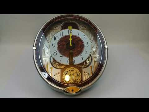 SEIKO Melodies In Motion Musical Wall Clock @ Pinehog
