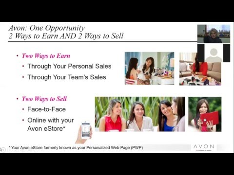 Activate (Build) your on-line Avon E-Store Sales
