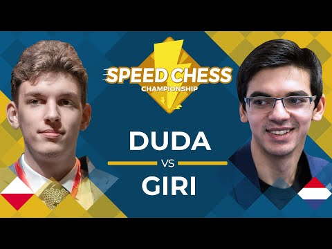 Jan-Krzysztof Duda vs. Anish Giri: 2019 Speed Chess Championship