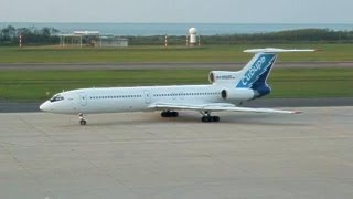 シベリア航空 Tupolev Tu-154M 新潟空港出発 -2005.09.17-