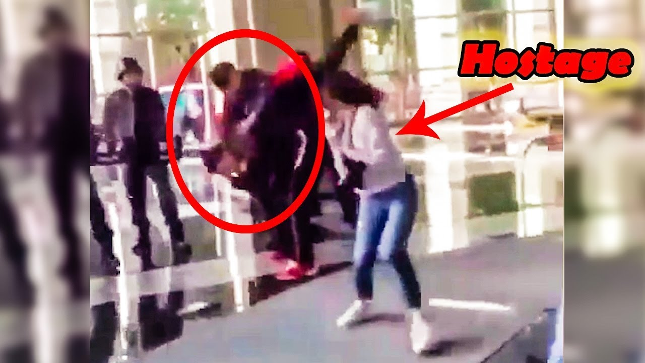 Man Saves Hostage - Amazing Real World Hero