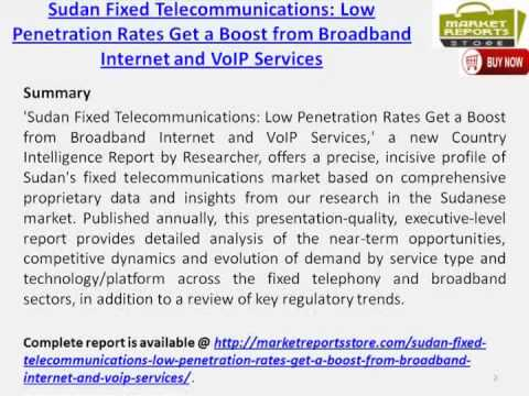 Sudan's fixed telecommunications market In-Depth Analysis
