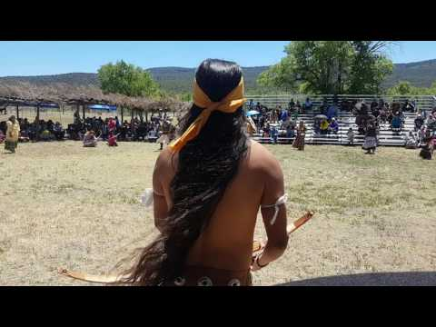 Apache War Dance 2o17 Ft.Apache Heritage Day(1)