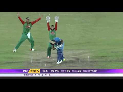Best of devastating leg before wickets