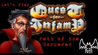 Quest For Infamy - Sorcerer Playthrough - EP 1