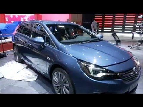 salon de l 39 automobile l opel astra d sign e voiture de l 39 ann e 2016 youtube. Black Bedroom Furniture Sets. Home Design Ideas